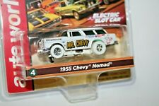Auto World IWEELS AFX AURORA CARS N COFFEE 55 MR. Chevy Nomad HO Scale SLOT CAR