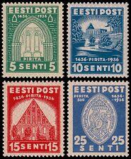 ✔️ ESTONIA 1936 - PIRITA CONVENT - MI. 120/123 TOP SET ** MNH OG [3.16.1]