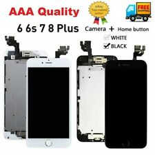 LCD Screen Digitizer Touch Full Replacement +Button For iPhone 6 6s 7 8 Plus