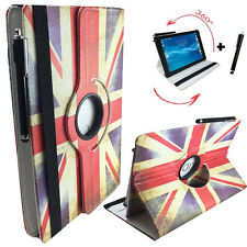 10.1 360 Zoll UK Tablet Hülle - MP Man Android MP100i Tasche - motiv England