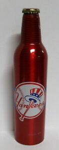 Budweiser 16 oz Aluminum Beer Bottle #500976 - 2007 New York Yankees