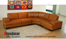 3PC NEW MODERN EURO LEATHER SECTIONALS SOFA S281