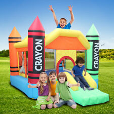 3.7*2.7*2.3m 420D Thick Oxford Cloth Inflatable Bounce House Castle Ball NEW752