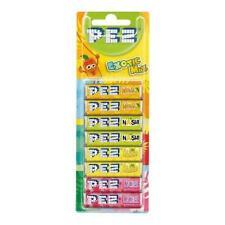 Pez Exotic Mix Refill 8 Pack Mango Nashi Lychee and Banana 68g