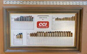 Vintage 1984 CCI Bullet Board Display Advertising w/ Original box