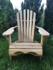 Handmade Solid Wood Oak Garden 1 Chair / Outdoor Patio Furniture