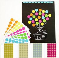 New 400 Dot Stickers 25mm Round Spot Circles Dots Paper Labels Round Sticky Dots