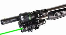 Mossberg 500 12 gauge weaponlight and green laser sight kit aluminum black