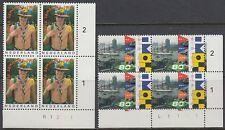Niederlande 1995 ** Mi.1547/48 Bl/4 Pfadfinder scouts Hafen harbour [st2272]