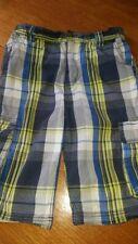 Bailey's Point Boys plaid shorts size 8 adjustable waist