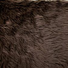 Luxury Shag Short Pile Faux Fur Fabric By the Yard