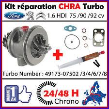 CHRA Cartouche Turbo Ford Fiesta VI Focus Fusion 1.6 HDi 75 90HP 49173 075xx/902
