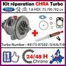 CHRA Cartucho Turbo Ford Fiesta VI Focus Fusion 1.6 HDi 75 90HP 49173 075xx/902