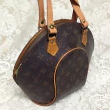 Louis Vuitton Brown Mono Ellipse Boxy Hand Bag 13in x 10in x 3in