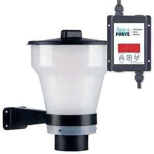 AquaForte Fish Feeder Futterautomat 7 Liter für 2-9 mm Pellet Koi Futter Teich