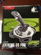 Logitech Extreme 3D Pro (963290-0403) Wheel And Pedals Set USB No CD or Manual