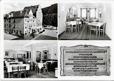 Ak-Nördlingen, gelaufen 1960 - Mehrbildkarte - Hotel Sonne
