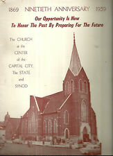 1959 Fundraising Book for First Swedish Lutheran Church in Des Moines Iowa