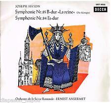 Haydn: Symphonies N. 84, 85 / Ansermet, Suisse Romande - LP Decca LXT 6022