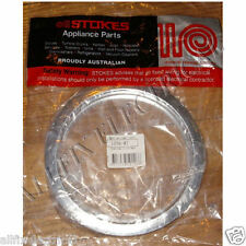 "Universal 6-1/4"" Stove Chrome Trim Ring - Part No. 1256-07"