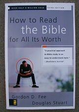 How to Read the Bible for All Its Worth Douglas Stuart Gordon Fee Seminary Book