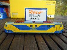 Roco 68410 RENFE 250 E Lok gelb/blau DIGITAL f.AC Maerklin Mazinger Design neu