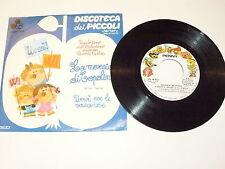 """DISCOTECA DEI PICCOLI """"LA MARCIA DI TOPOLINO""""  45 giri VARIETY RIFI 1975"""