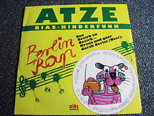 Atze-Berlin Rap 7 PS-Rias Kinderfunk-Made in Berlin-RIAS Berlin