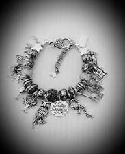 Bead Charm Bracelet Harry Potter Inspired Films Mischief Managed Gift