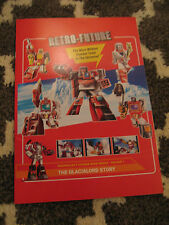 NEW Transformers FP Fansproject Glacialord Story Sticker Set Retro-Future