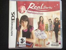 JEU**NINTENDO DS ***REAL STORIES  FASHIONSHOP   ***OCCASION