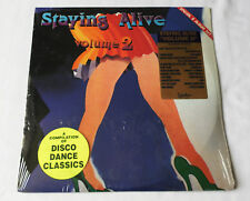 V/A STAYING ALIVE 2 - CANADA Double LP UNIDISC (1990) Disco NEW STILL SEALED