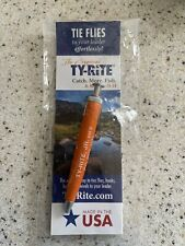 Ty-Rite Jr Original Fly Fishing Knot Tool Flies Hooks Hook Midge Holder Usa