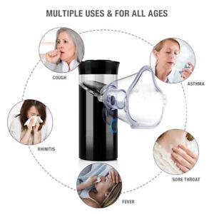 Travel Rechargeable Ultrasonic Nebr Inhaler Respirator Mesh Nebulize USB chargin