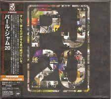 PEARL JAM, TWENTY, AUTH LTD ED 2 x CD, COMP ALBUM, JAPAN 2011, SICP-3292/3 (NEW)