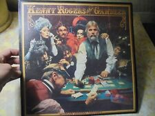 Kenny Rogers The Gambler, Vinyl Record 1978 With Poster,