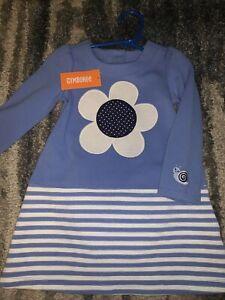 NWT Girls Gymboree Blue Flower Dress w/ bloomers sz 2T
