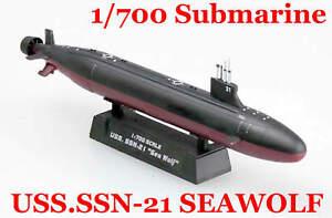 Easy Model 1/700 USS.SSN-21 SEAWOLF Submarine Plastic Model #37302