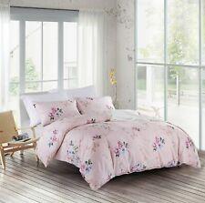 Victoria's Rose 100% Cotton Printing Duvet Cover Set, 3 PCS (Q/K)-S