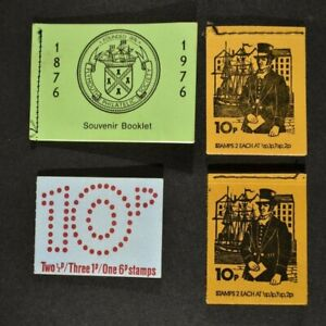 QEII, a collection of four (4) decimal stamp booklets.