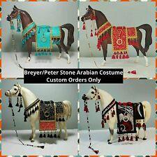 Breyer/Peter Stone Arabian Costume CUSTOM ORDERS (Please read full description)