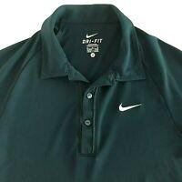 Nike Golf Dri-Fit Tour Performance Men's Polo Shirt Navy Blue Size: Medium M