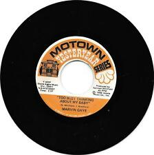 MARVIN GAYE - TOO BUSY THINKING ABOUT MY BABY - MOTOWN YESTERYEAR  EX. CONDITION