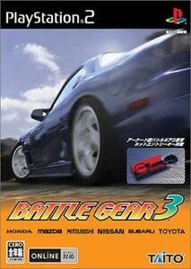 PS2 Battle Gear 3 Japan Import Playstation 2 Japan Import Game Japanese
