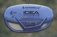 Adams Idea A3 Boxer 4 Iron 22° Degree Hybrid Ladies Flex Aldila Graphite Club RH