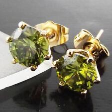 Handmade Emerald Yellow Gold Filled Fashion Jewellery