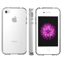 Transparent Case Cover Clear Protective TPU Back Soft Skin For Apple iPhone 4/4S