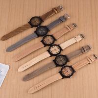 Men Women Roman Leather Band Analog Quartz Vogue Wrist Watch Bracelet Watches