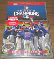 2016 World Series Champions: The Chicago Cubs (DVD, 2016)  .. sealed new