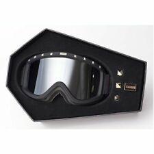 Sabre Snow Goggles Snowboarding Skiing Black Frame Silver Lens SN1005A